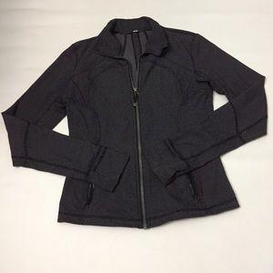 Lululemon Forme Jacket || textured diamond dot 8